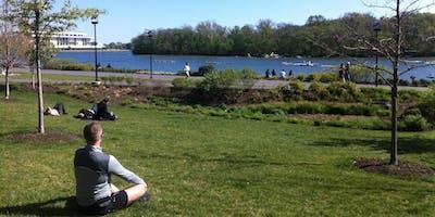 Get Your Downward Dog On in Central Park