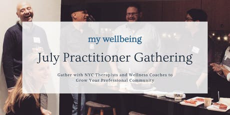 My Wellbeing: July Practitioner Gathering tickets