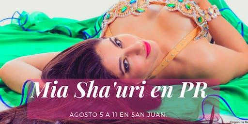 Mia Sha'uri en Puerto Rico