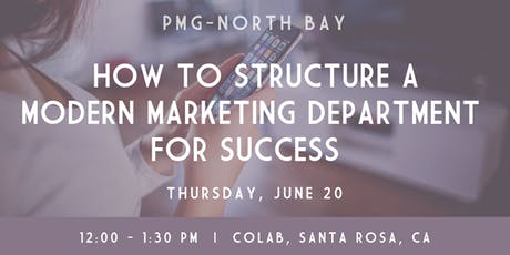 How to Structure a Modern Marketing Department for Success tickets