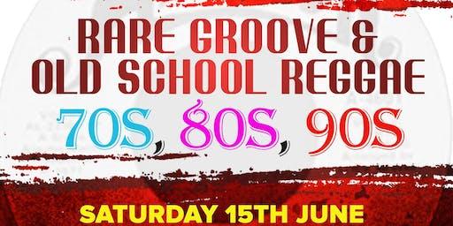 "Loversrockradio presents ""Rare Groove and Old School Reggae"""