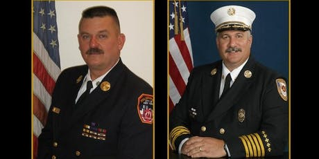 Chief Rick Lasky and Chief John Salka  tickets