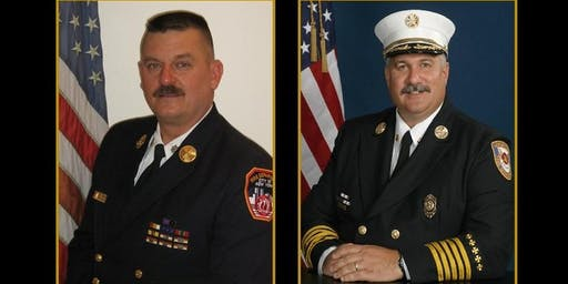 Chief Rick Lasky and Chief John Salka