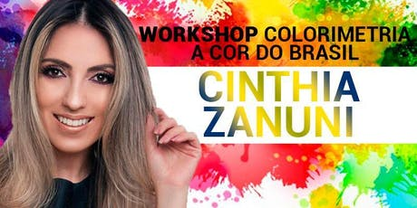 "Workshop ""A cor do Brasil."" ingressos"