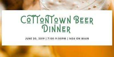 Cottontown Beer Dinner