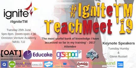 Ignite TeachMeet '19 tickets