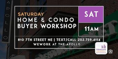 DC Home & Condo Buyer Workshop - 6/01/2019