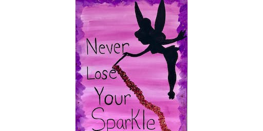 "Open Paint (13yrs+) ""Never Lose Your Sparkle"""
