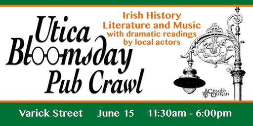 Utica Bloomsday Pub Crawl