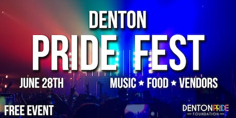 Denton Pride Fest tickets