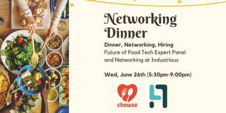 Networking Dinner with Chewse tickets