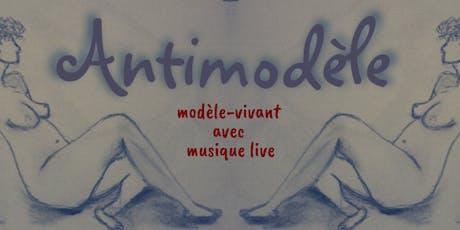 Antimodèle : modèle-vivant avec musique live tickets