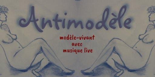 Antimodèle : modèle-vivant avec musique live