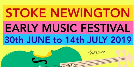 25th Stoke Newington Early Music Festival tickets