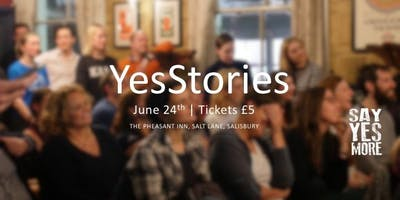 YesStories - A Night of Inspiration - YesTribe Wiltshire