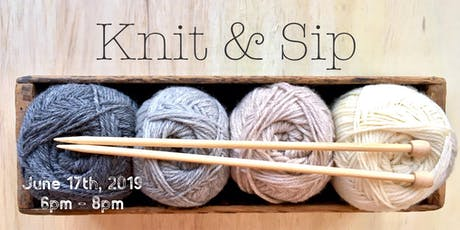 Knit & Sip tickets