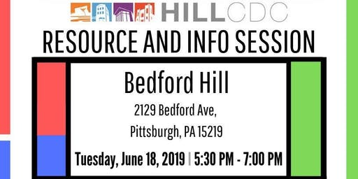 Hill CDC Resource and Info Session - Second Session