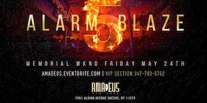 5 ALARM BLAZE  AT AMADEUS NIGHTCLUB ( QUEENS )...