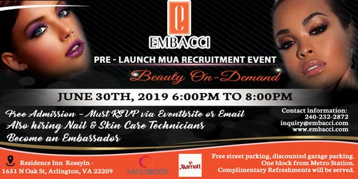 Pre-Launch MUA Recruitment Event