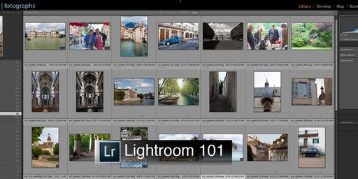 Beginning Adobe Lightroom Classic CC with Natasha Calzatti 2 Sessions - PAS