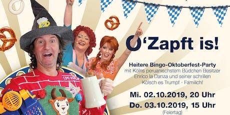 Enricos Büdchen Bingo - O´Zapft is! (1) Tickets