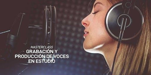 Taller de Grabación y Producción de Voces