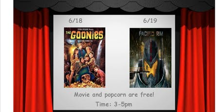 "Free Movie Matinee-""Goonies"" tickets"