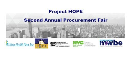 Project HOPE Second Annual Procurement Fair