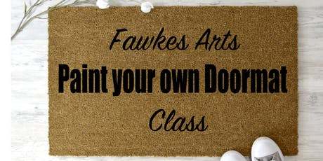 Paint your own Doormat tickets