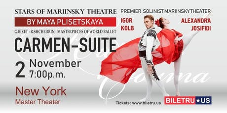 "BALLET ""CARMEN SUITE"" - STARS OF MARIINSKIY THEATRE, in New York tickets"