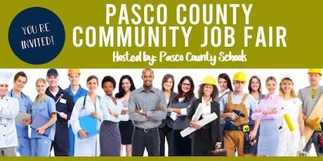 Pasco Community Job Fair 2019 tickets