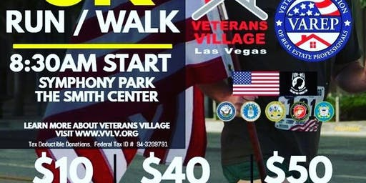 Veterans Village 3rd Annual 5k Run/Walk