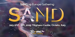 SAND19 Gathering in Italy