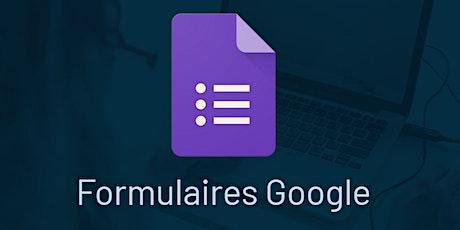 Google Formulaires (la base) billets