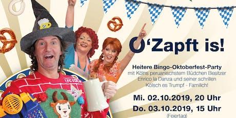 Enrico´s Büdchen Bingo - O´Zapft is! (2) Tickets