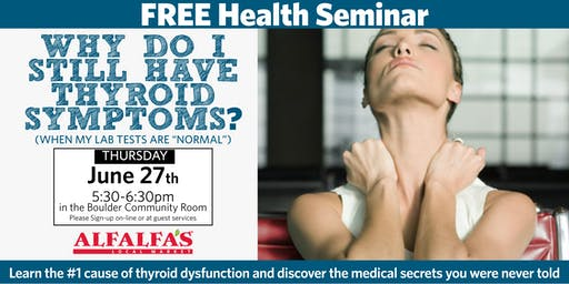 """Why Do I Still Have Thyroid Symptoms? (When My Lab Tests Are """"Normal"""")"""