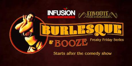 8/2 - Burlesque & Booze tickets
