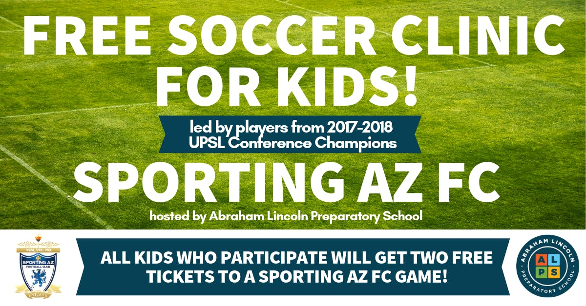 Free Soccer Clinic for Kids!