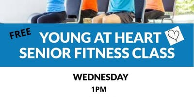 Young at Heart- Senior Fitness Class
