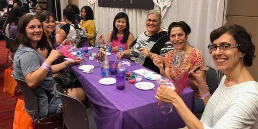 Wine Glass Painting Class @ Rayback Collective 7/7 @ 10am