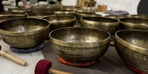 Concert méditatif de bols tibétains - par Jimmy Thériault