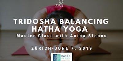 Tridosha Balancing Hatha Yoga Class