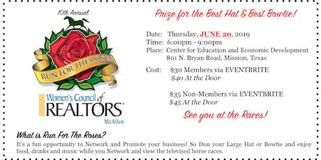 10th Annual Run For The Roses! tickets