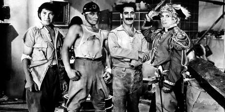 The Marx Brothers in DUCK SOUP (1933) w/ bonus attractions tickets