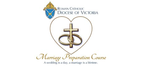 Roman Catholic Diocese of Victoria: Marriage Preparation Course - Feb. 2020 tickets