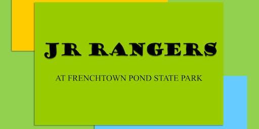 Jr. Rangers Paleolithic Play