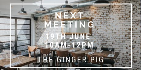 Hove Ladies Who Latte June Networking Event 26th June 10am Ginger Pig Hove tickets