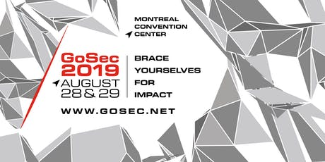 GoSec 2019 tickets