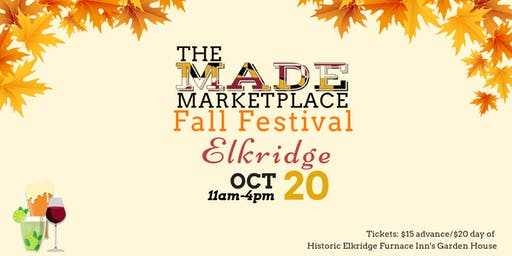 2019 Made Marketplace: Elkridge Fall Festival