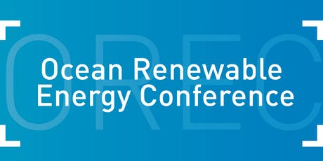 Ocean Renewable Energy Conference 2019 tickets